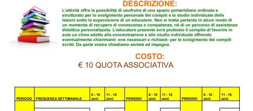 STUDIO ASSISTITO STAGIONE 2015 / 2016
