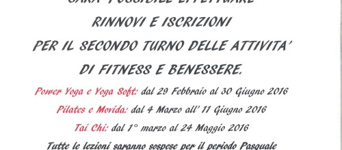 FITNESS&BENESSERE 2016