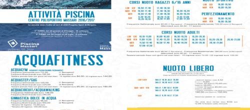 2° TURNO 2016-2017 CORSI PISCINA