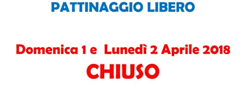 PATTINAGGIO LIBERO PASQUA