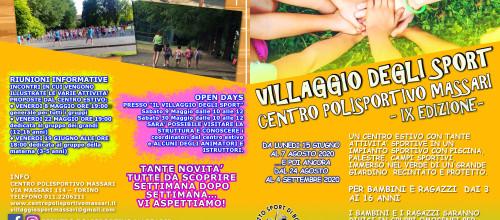 VILLAGGIO DEGLI SPORT 2020